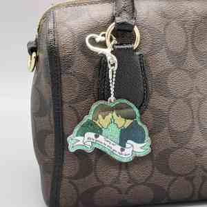 Carry On Supernatural Keychain