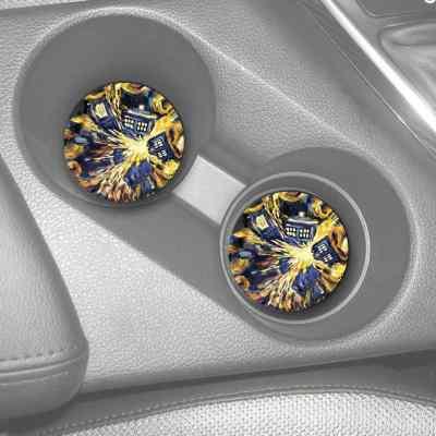 TARDIS Car Coasters