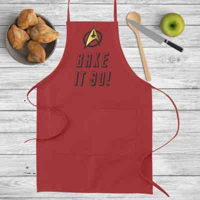 Bake it so Apron