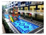 Sewa Harian & Mingguan Apartemen Center Point Bekasi – Tipe 2 Bedrooms Full Furnished Free Wi-Fi & TV Cable
