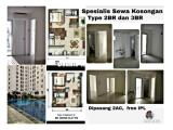 [Unit 2BR Unfurnished All Tower] Bassura City banyak pilihan apartemen Jakarta Timur