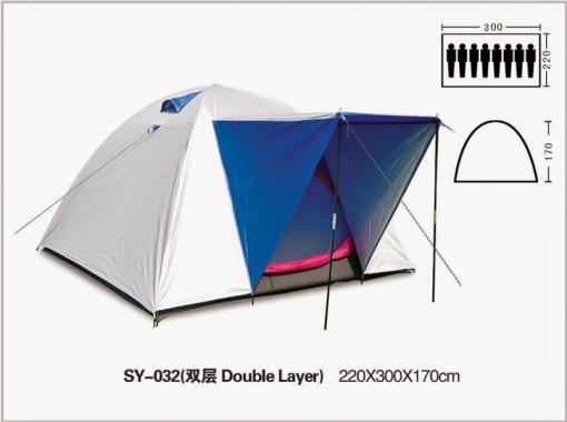 Sewa tenda kemping di Lampung