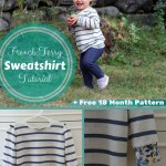 Cool Weather Series: French Terry Sweatshirt Tutorial