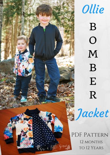 Ollie Bomber Jacket Pattern