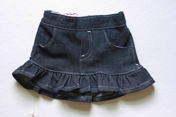 Linden Shorts & Skirt PDF Pattern