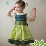 Anna Pinafore Dress Free Pattern