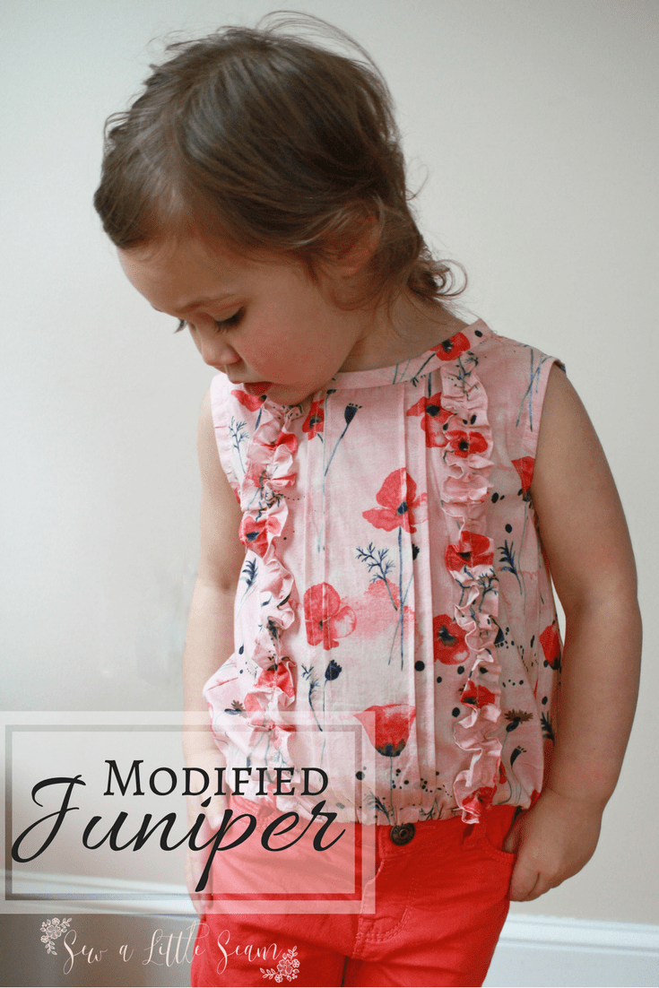 Juniper Sewing Pattern Hack