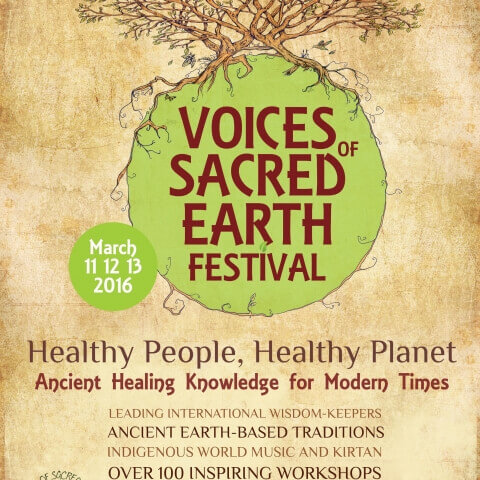 At Voices of Sacred Earth Festival in Auckland