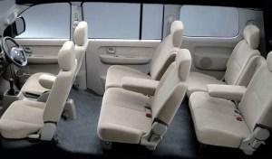 Sewa Mobil Bali Suzuki APV Seat