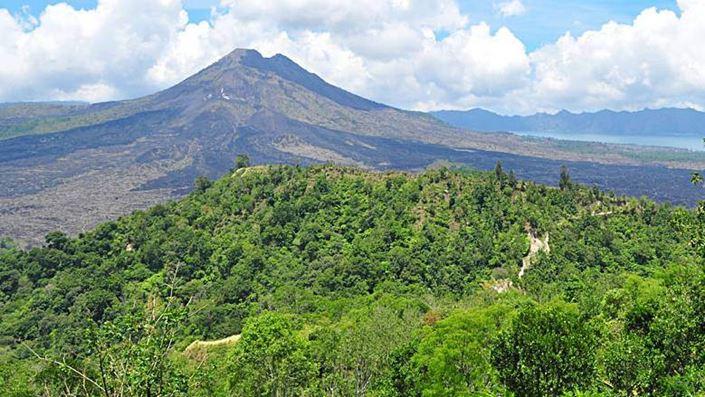 Desa Kintamani Bali Pemandangan Gunung Batur Feature