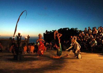 Pura Uluwatu Bali Pemandangan Sunset 04