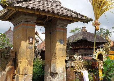 Desa Penglipuran Bangli Bali- Angkul-angkul