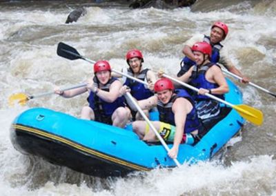 Paket Rafting Bali di Sungai Ayung 022016