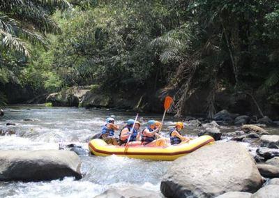 Paket Rafting Bali di Sungai Ayung 042016