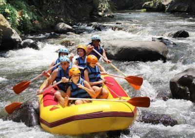 Paket Rafting Bali di Sungai Ayung 052016