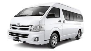 Sewa Mobil Toyota Hiace di Bali Dengan Sopir 2015 New