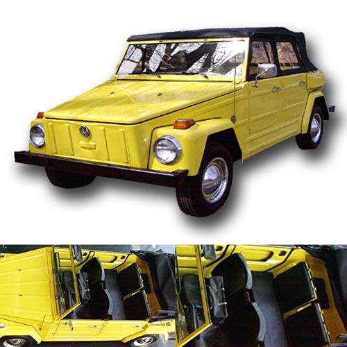 Sewa Mobil VW Safari Di Bali Warna Kuning New HP
