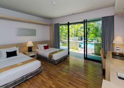 Hotel Le Grande Pecatu Bali Deluxe Room 01