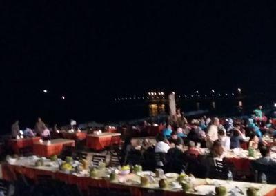 Pantai Jimbaran Bali Sunset Makan Malam Seafood 04-12092016