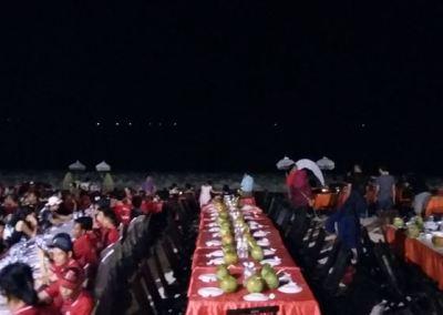 Pantai Jimbaran Bali Sunset Makan Malam Seafood 05-12092016