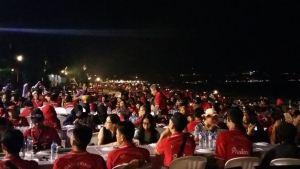 Pantai Jimbaran Bali Sunset Makan Malam Seafood 06-12092016