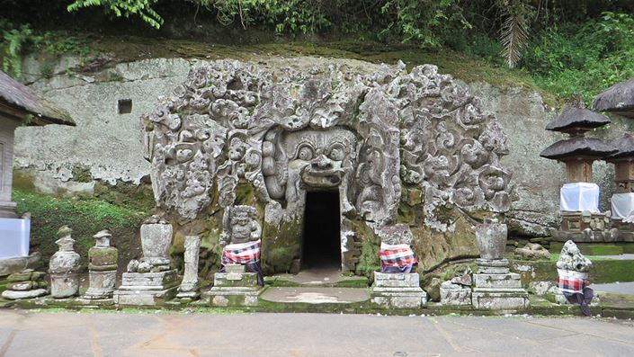Pura Goa Gajah, Bedahulu, Bali