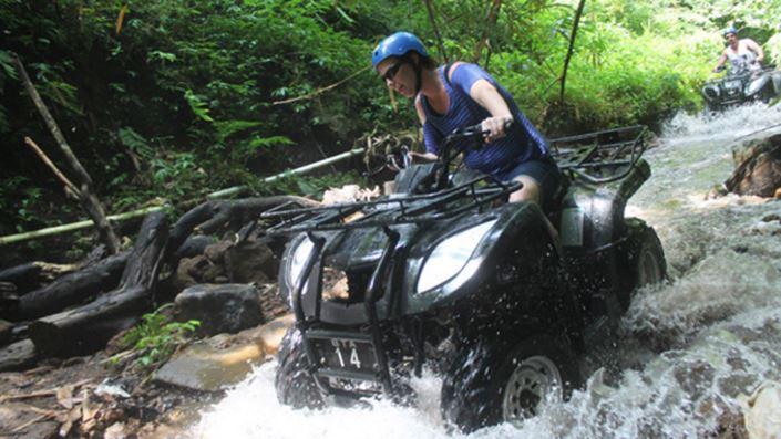 ATV di Bali Taro
