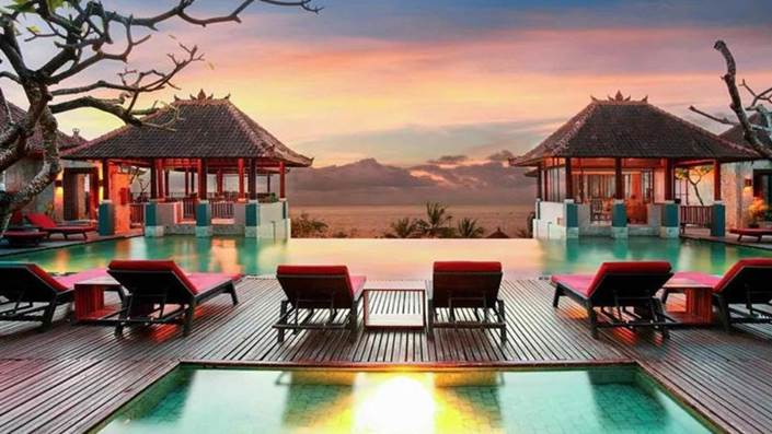 Mercure Kuta Bali Hotel Pemandangan Pantai