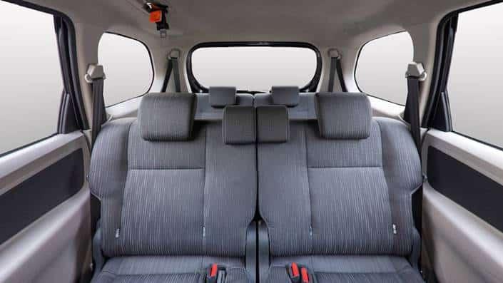 Interior Mobil Toyota Avanza Terbaru 2020 Bagian Belakang
