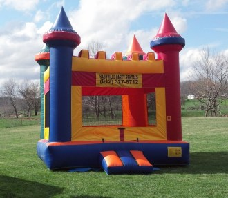 Moonbounce Inflatable Castle