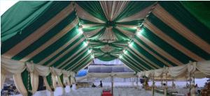 tenda vip gold hijau