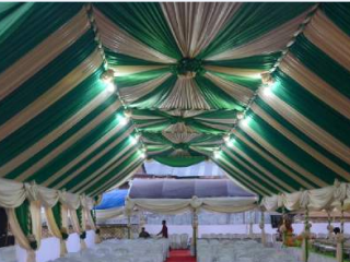 Tenda VIP Gold-Hijau
