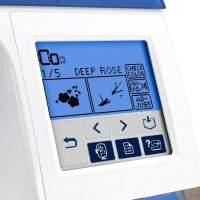 Brother Designio DZ820E Embroidery Machine screen 3
