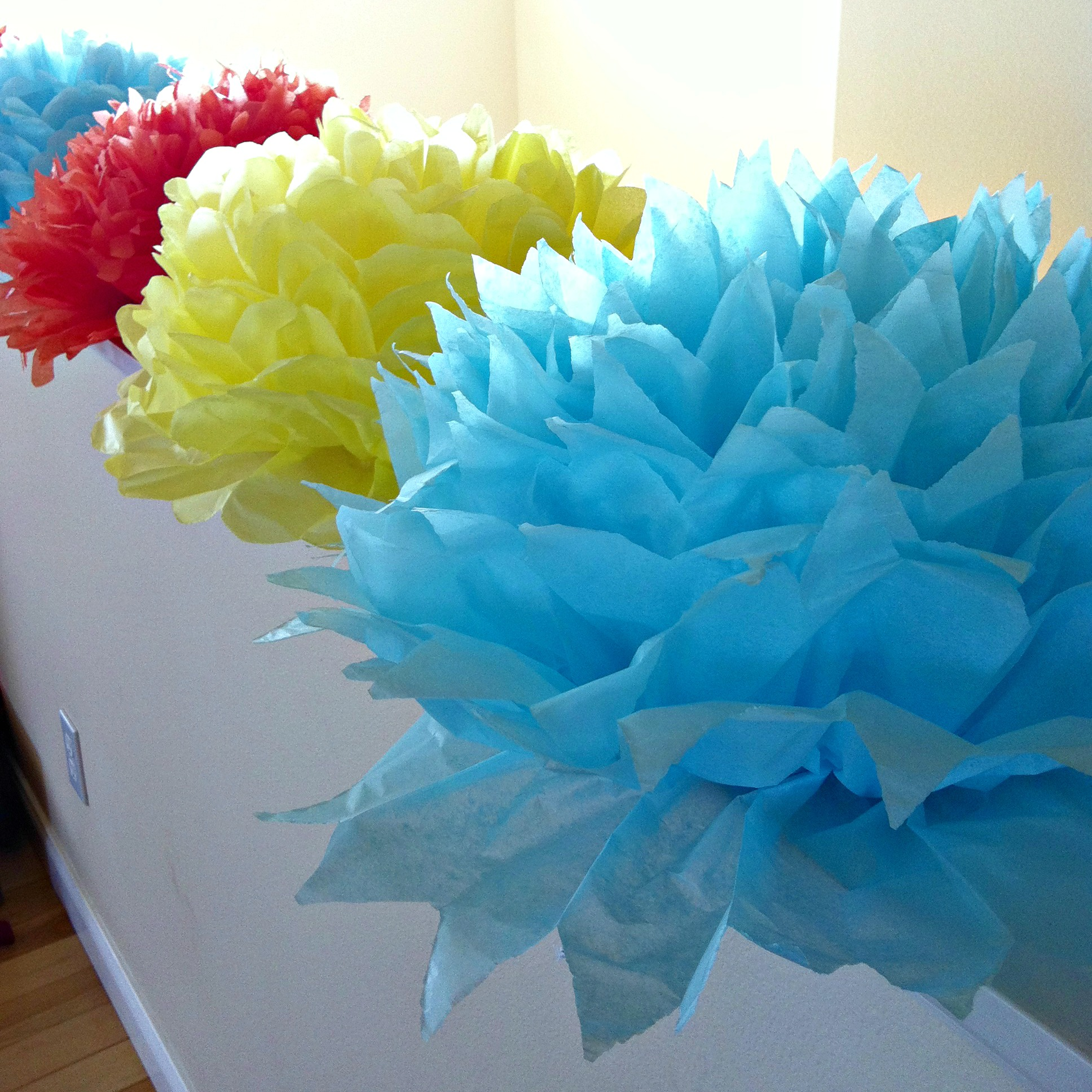 Crepe Paper Flowers For Centerpiece