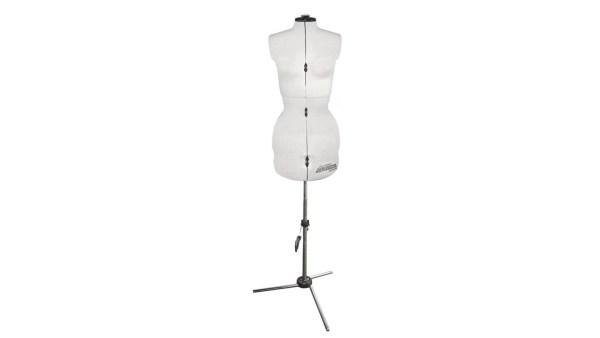 White dress form for dressmaking