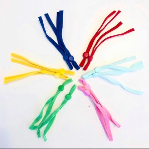 multi coloured adjustable straps