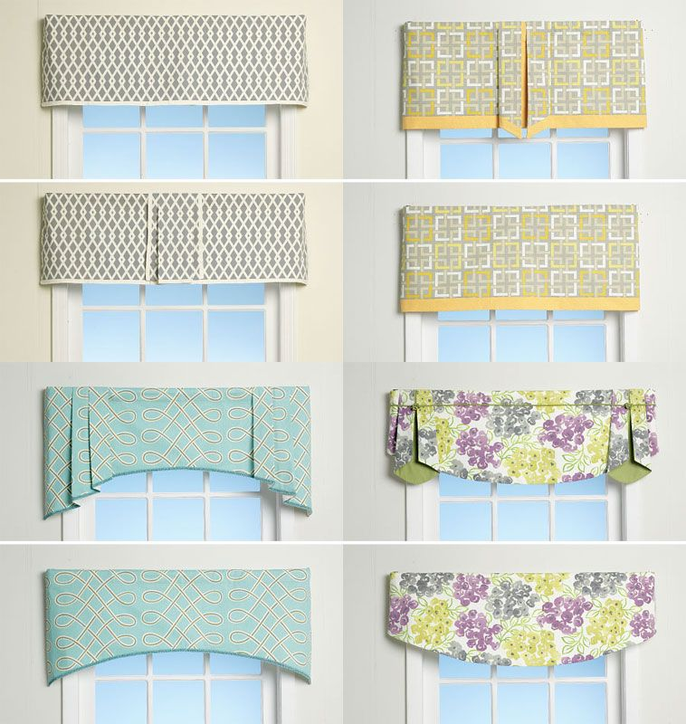 window treatments mccalls sewing pattern no 7033 one size