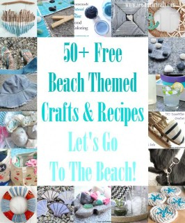 50+ Free Beach Themed Crafts & Recipes - Let's Go To The Beach!