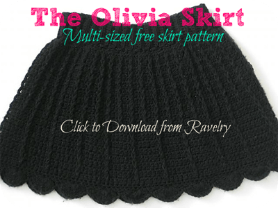 Free Crochet Pattern - The Olivia Skirt