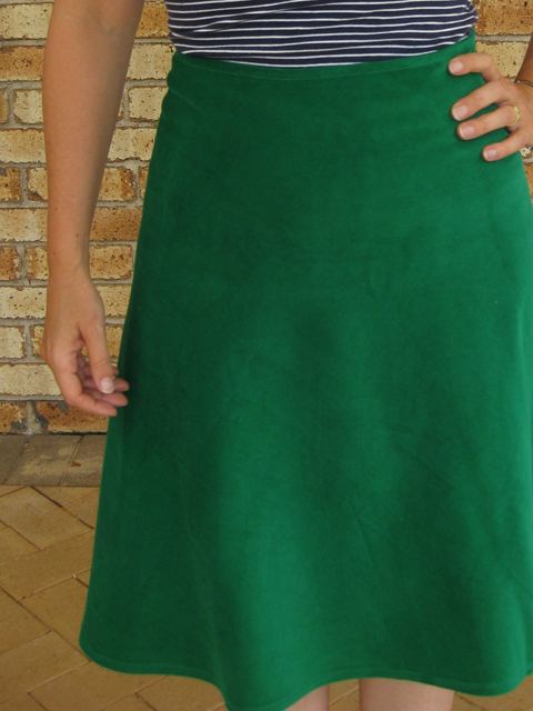 A 1/4 circle skirt made easy*