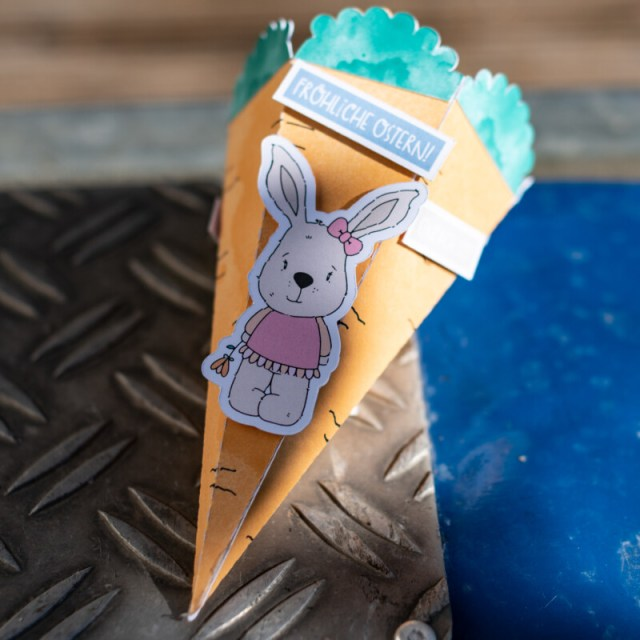 Möhrenbox mit Hase