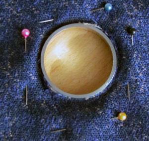 Как установить люверсы с помощью клеевой ткани