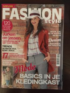 First Dutch Patrones fashion magazine