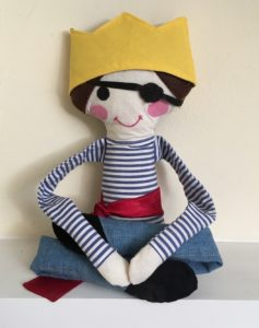 Wilding Dolly becomes Pirate King Boy