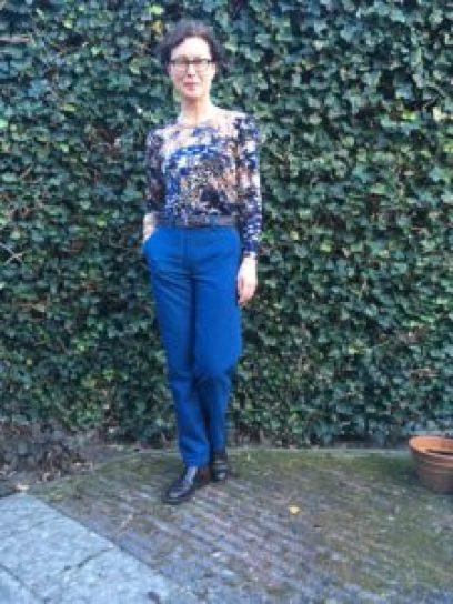 Feminien Coin Pocket Jeans Chino