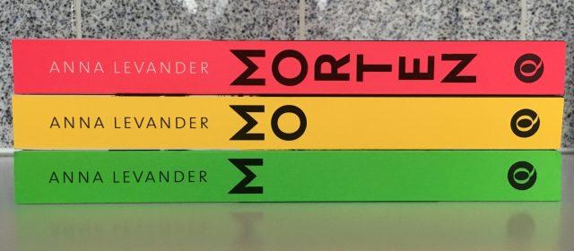 Anna Levander's politieke thriller trilogie Morten