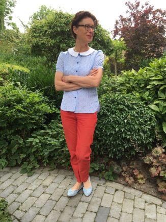 Christine Haynes Sassy Librarian Blouse