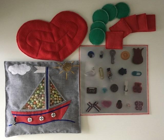 Homemade Activity Teaching toys