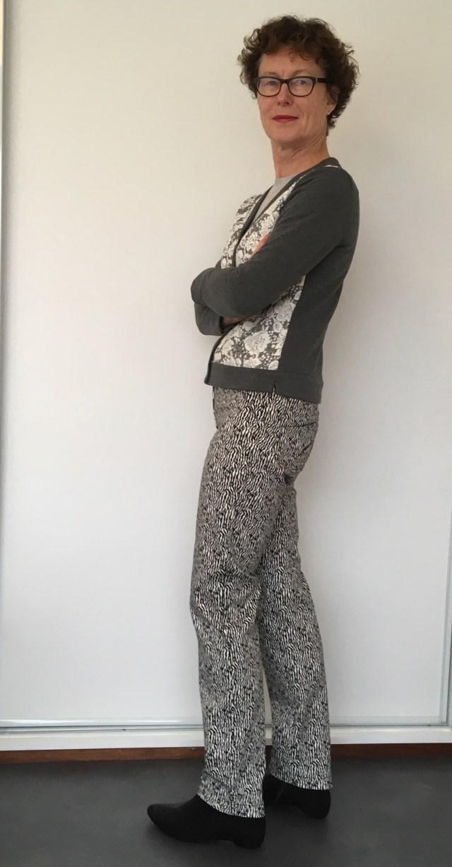 Zelfgemaakte tweedelig party outfit
