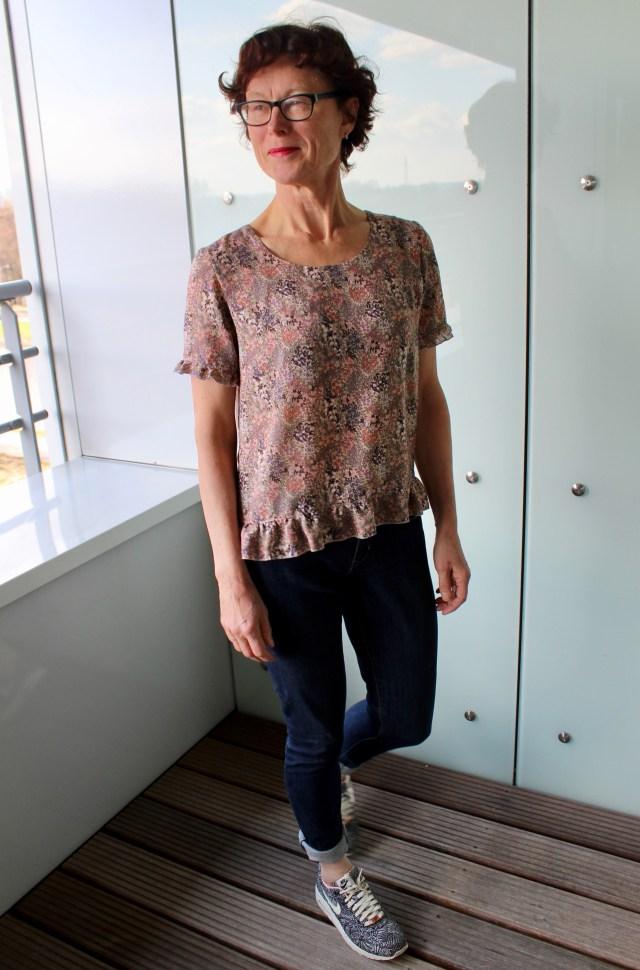 Wearable Studio Franki Top pattern